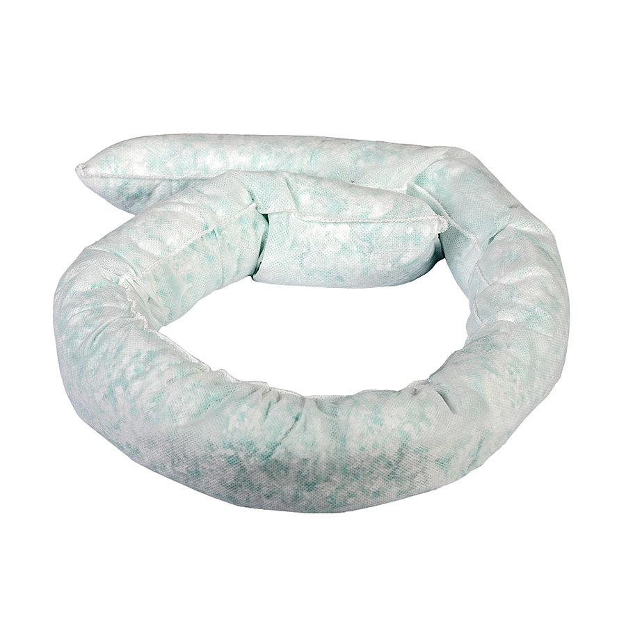 Hydrofobní sorpční had - průměr 7,5 cm a délka 120 cm - 20 ks