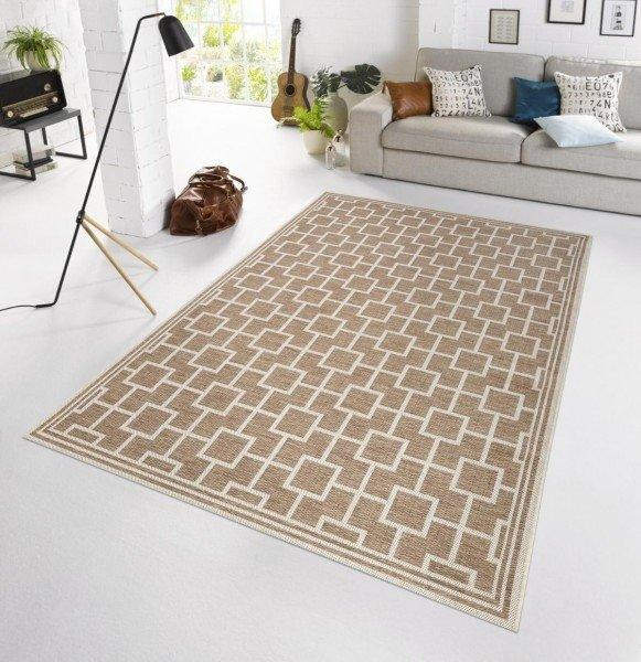 Béžový moderní kusový koberec Botany - délka 230 cm a šířka 160 cm