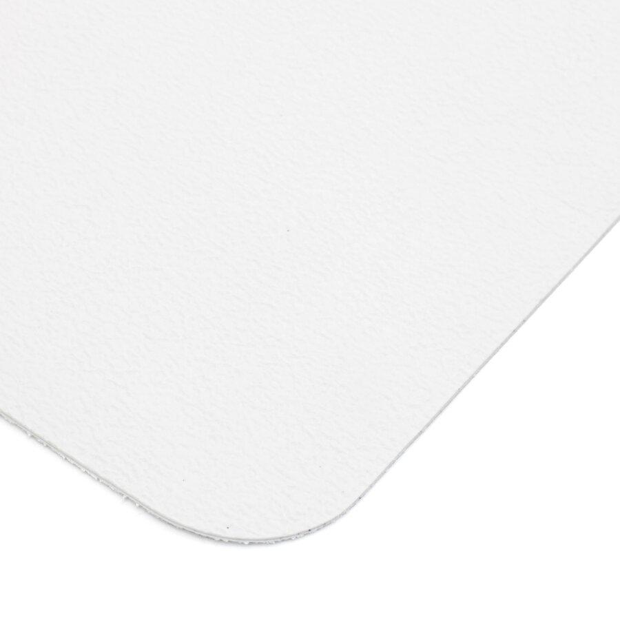 Bílá plastová voděodolná protiskluzová páska (dlaždice) FLOMA Aqua-Safe - délka 14 cm, šířka 14 cm a tloušťka 0,7 mm