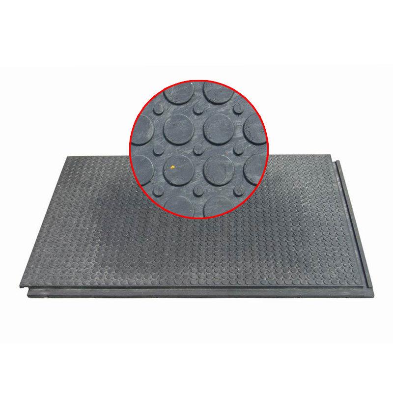 Plastová interierová podlahová deska 01 - délka 120 cm, šířka 80 cm a výška 2,2 cm