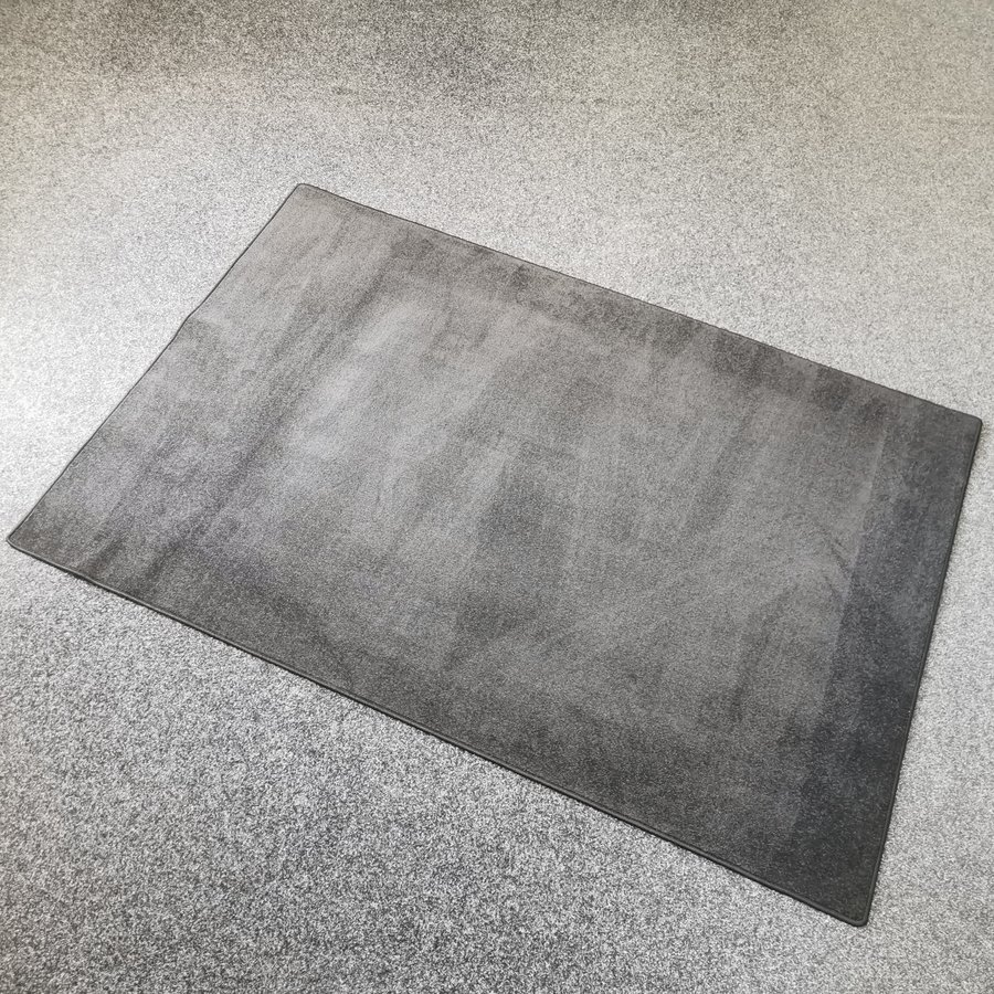 Šedý kusový koberec Soho - délka 230 cm a šířka 160 cm