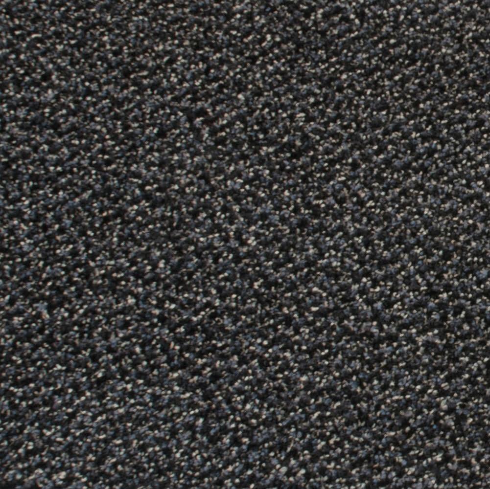 Béžová textilní vnitřní čistící vstupní rohož - délka 60 cm, šířka 90 cm a výška 0,8 cm