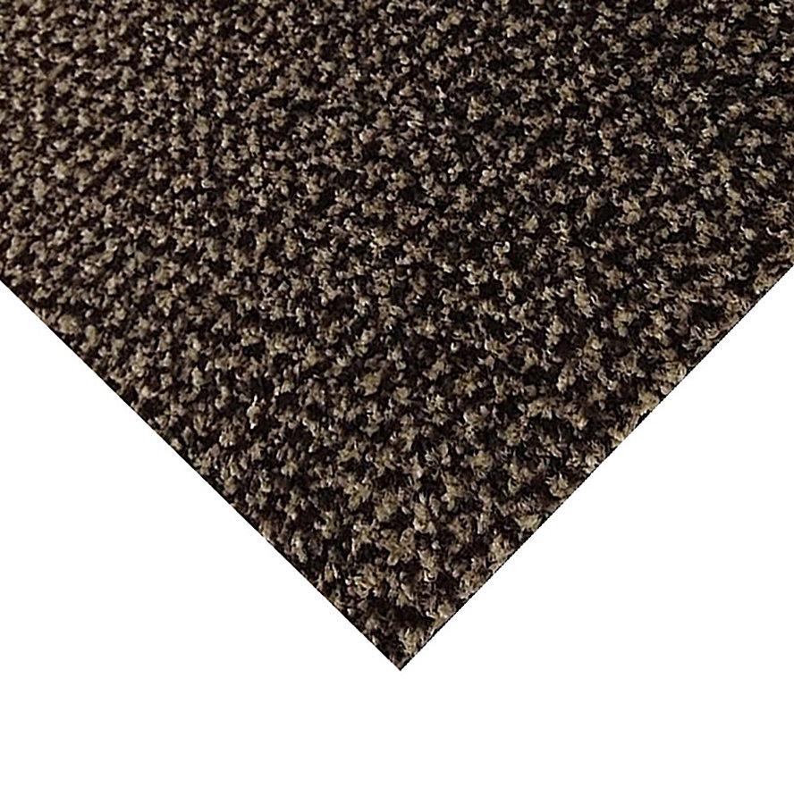 Hnědá kobercová vnitřní čistící zóna Alanis, FLOMA - výška 0,75 cm