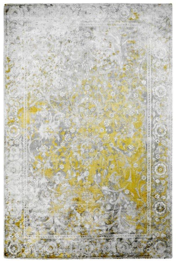 Žlutý moderní kusový koberec Taste of Obsession - délka 150 cm a šířka 80 cm