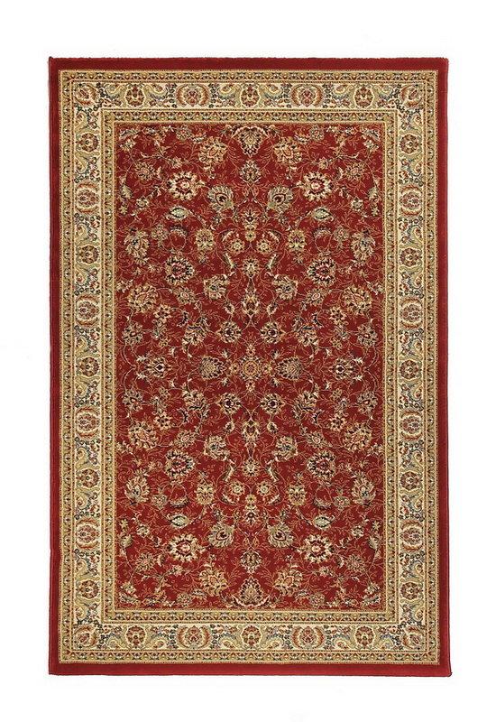 Červený kusový orientální koberec Tashkent - délka 285 cm a šířka 200 cm