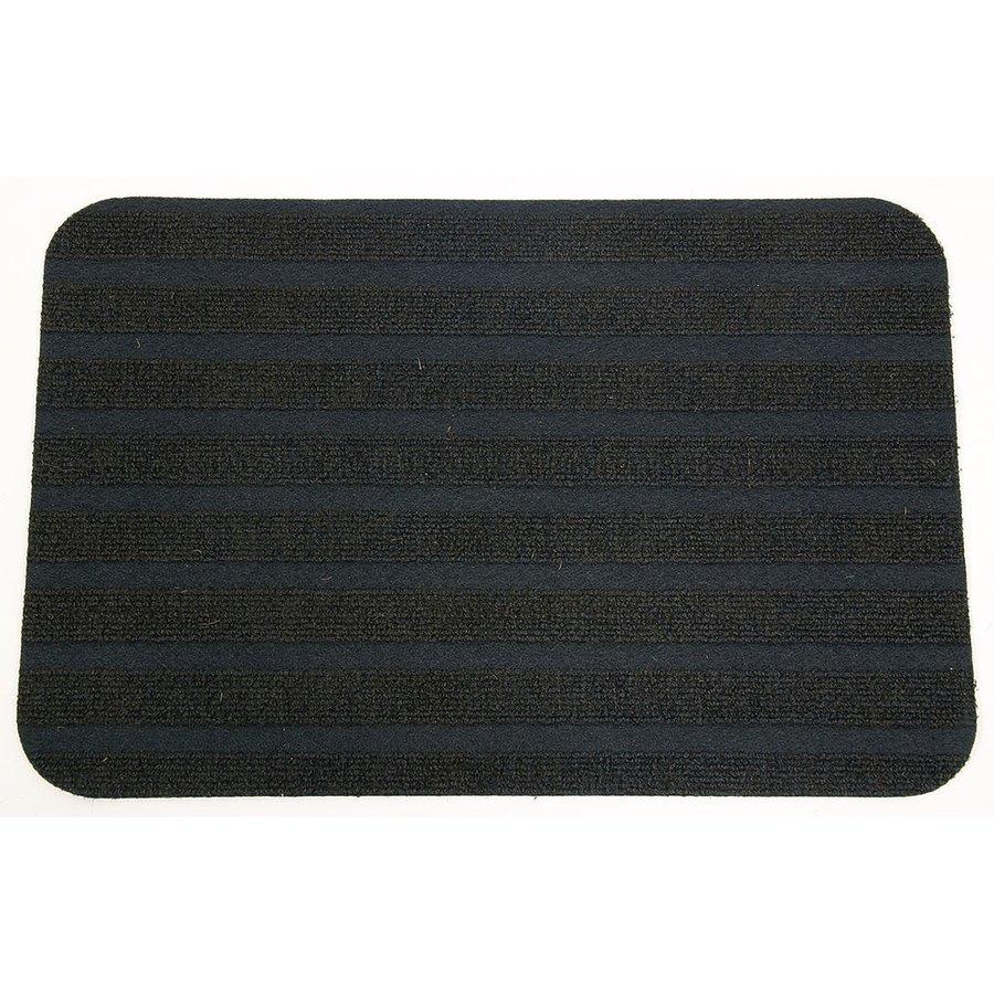 Textilní pratelná vstupní vnitřní čistící rohož - délka 38 cm a šířka 57 cm