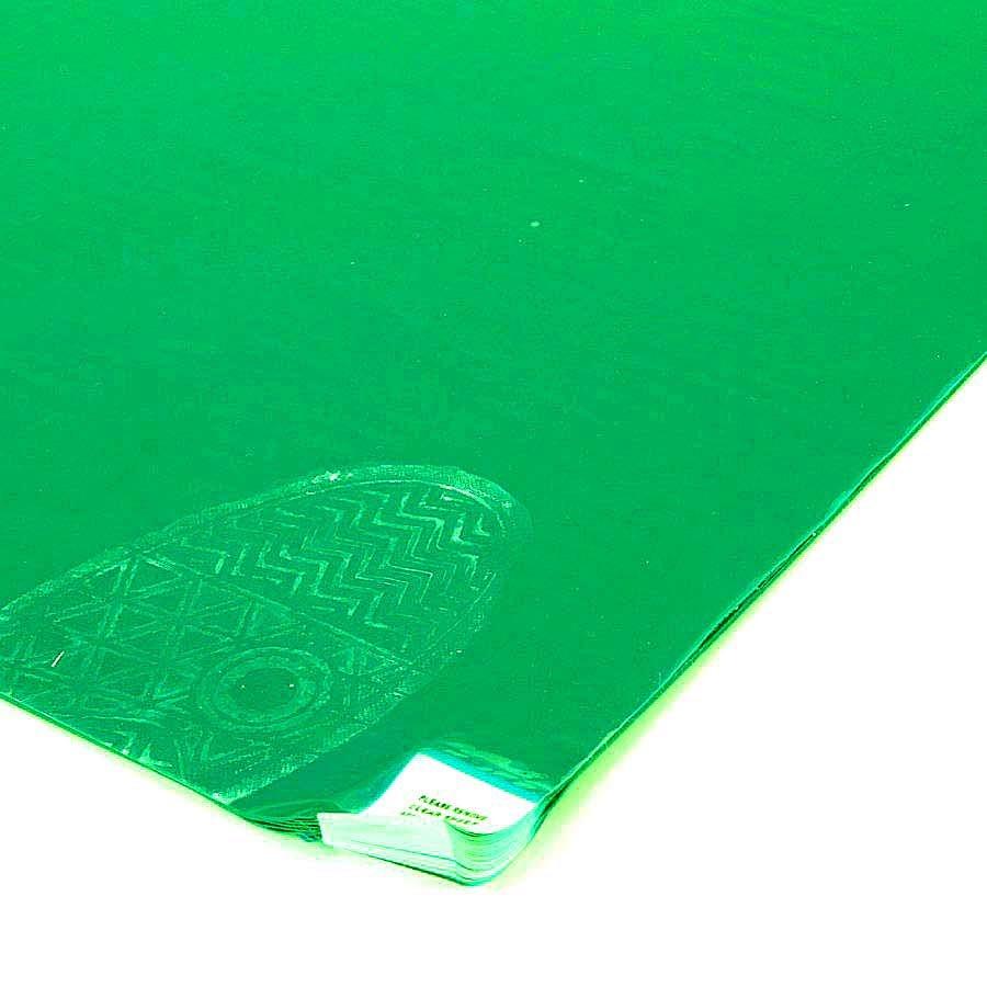 Zelená dezinfekční lepící dekontaminační rohož Sticky Mat, FLOMA - 60 listů