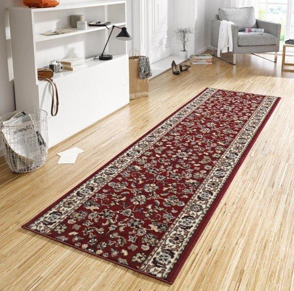 Různobarevný kusový moderní koberec Basic - šířka 80 cm