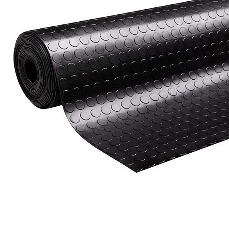 Protiskluzová průmyslová podlahová guma Coins, FLOMA