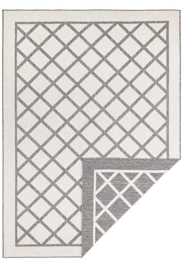 Šedý oboustranný moderní koberec Twin-Supreme, Sydney