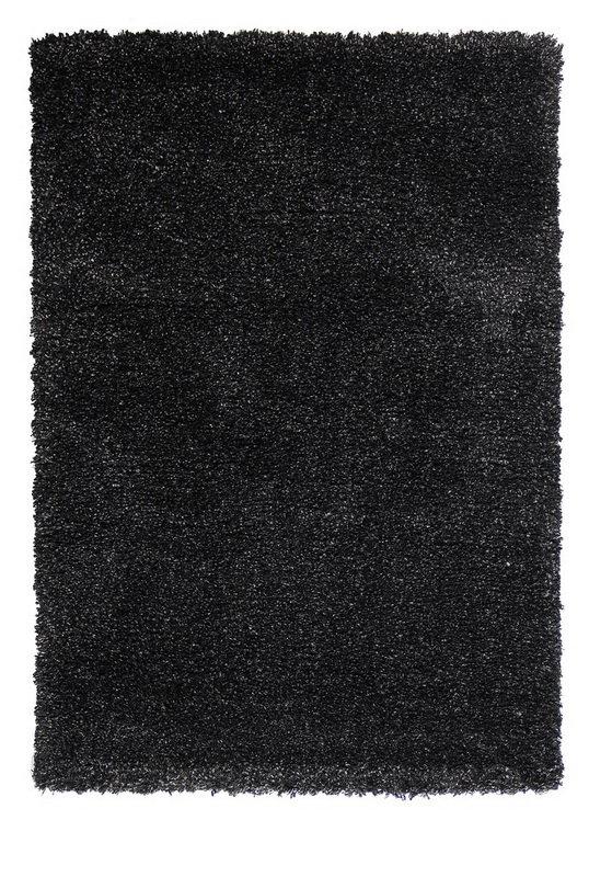 Černý kusový koberec Fusion - délka 140 cm a šířka 70 cm
