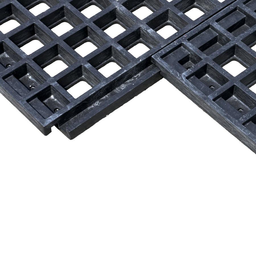 Plastový zátěžový zatravňovací rošt - délka 80 cm, šířka 60 cm a výška 4,3 cm