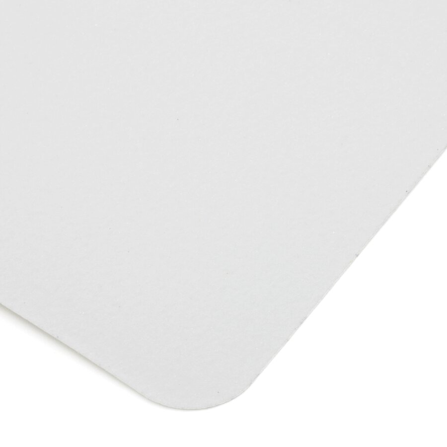 Bílá korundová protiskluzová páska (dlaždice) FLOMA Standard - délka 14 cm, šířka 14 cm a tloušťka 0,7 mm