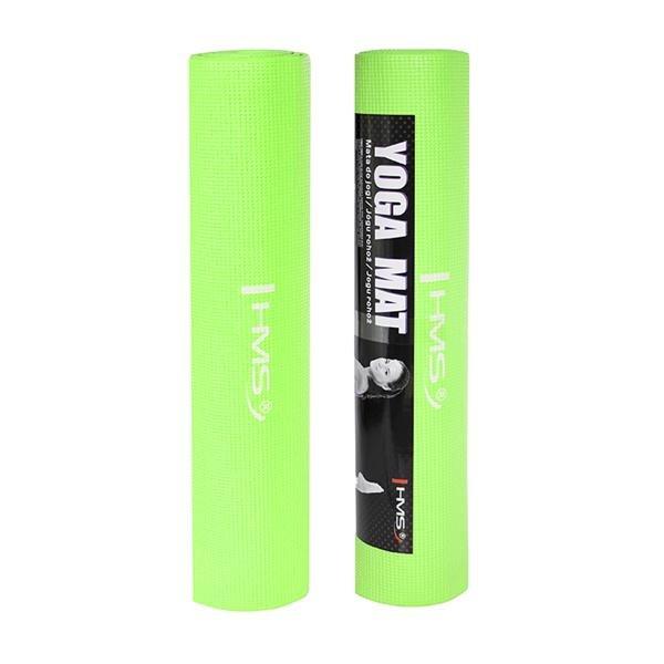 Zelená podložka na jógu ONE FITNESS - délka 173 cm, šířka 61 cm a výška 0,6 cm