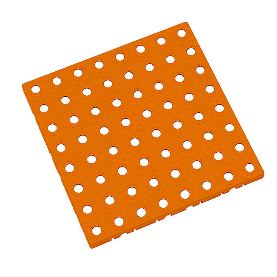 Oranžová plastová modulární dlaždice AvaTile - délka 25 cm, šířka 25 cm a výška 1,6 cm