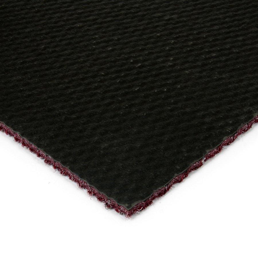 Červená kobercová zátěžová čistící zóna FLOMA Fiona - výška 1,1 cm