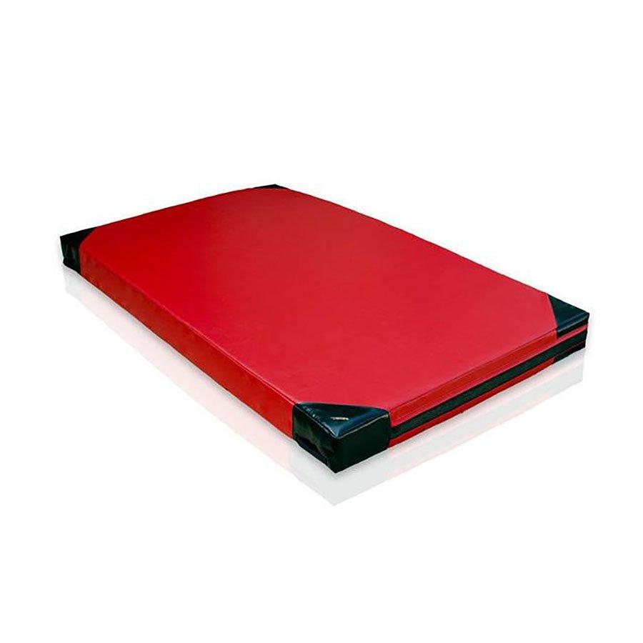 Červená žíněnka (tvrdost T40) GYMAT 07 - délka 200 cm, šířka 120 cm a výška 15 cm