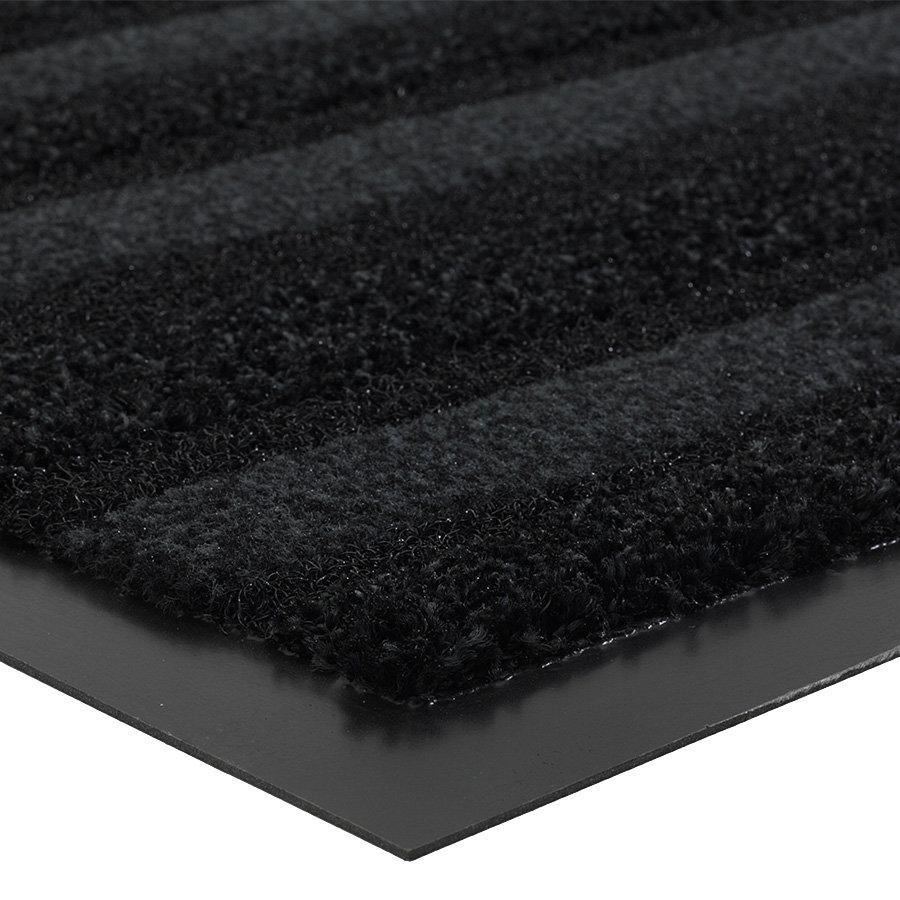Grafitová metrážová čistící vnitřní vstupní rohož (lem - 2 strany) Passage, FLOMA (Cfl-S1) - délka 1 cm a výška 0,9 cm