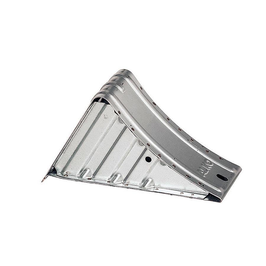 Kovový zakládací klín (pro vozidla nad 3,5 t) - délka 36 cm, šířka 16 cm a výška 20 cm