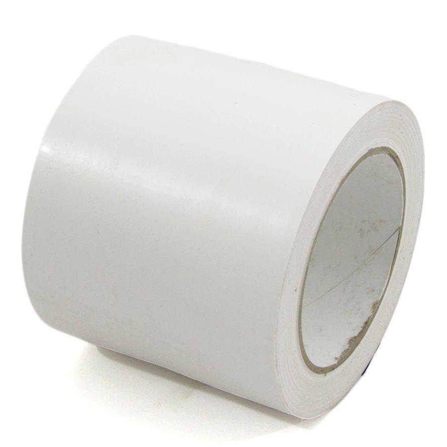 Bílá vyznačovací páska Super - délka 33 m a šířka 10 cm