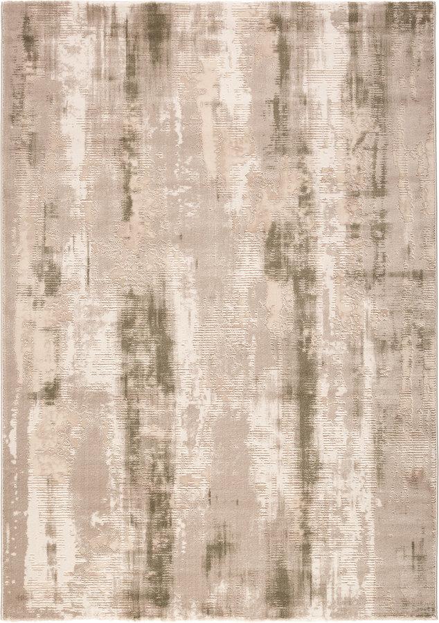 Béžový moderní kusový koberec Bolero - délka 170 cm a šířka 120 cm