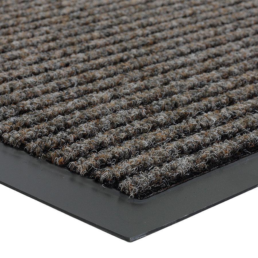 Hnědá vnitřní čistící vstupní rohož FLOMA Everton - délka 60 cm, šířka 80 cm a výška 0,6 cm