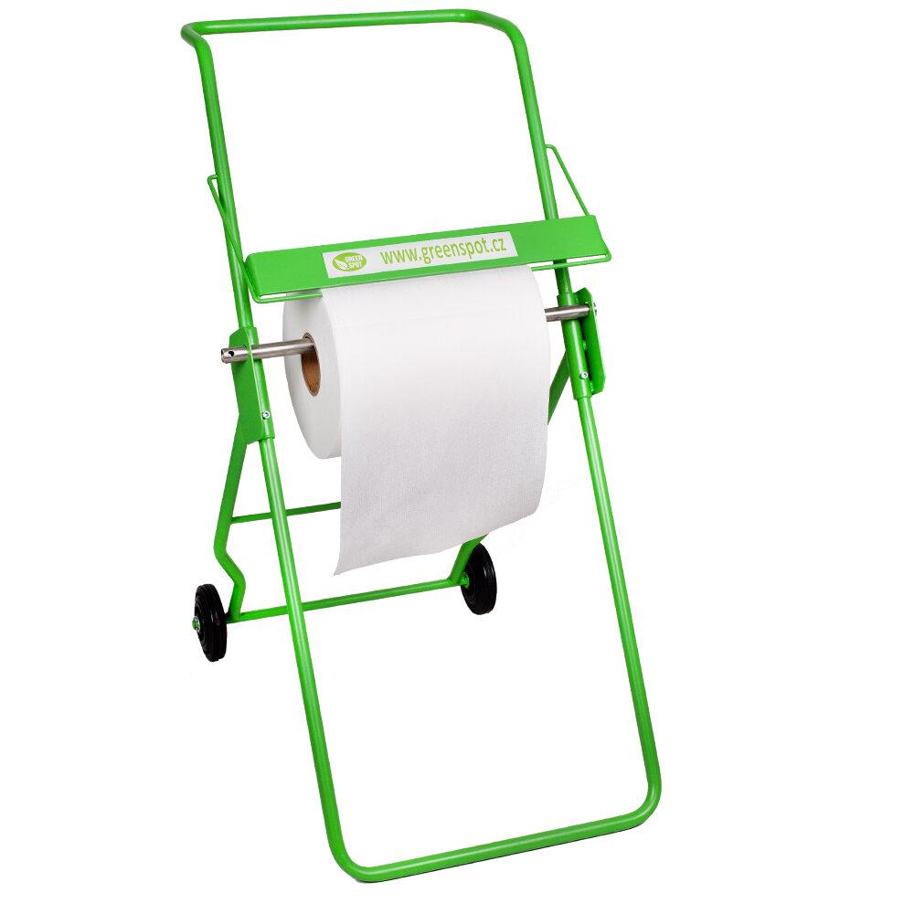 Mobilní stojan na sorpční koberce - délka 72 cm, šířka 42 cm a výška 102 cm