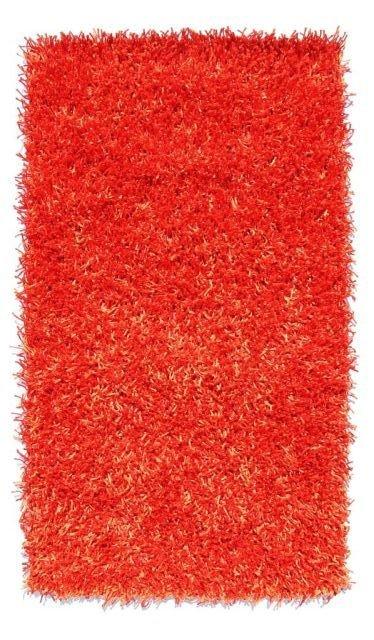 Červený kusový koberec Rosa