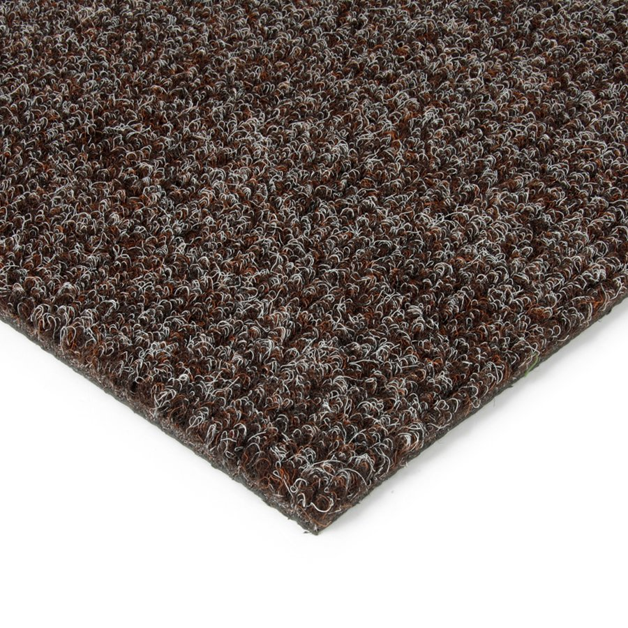 Tmavě hnědá kobercová vnitřní čistící zóna Catrine, FLOMAT - výška 1,35 cm