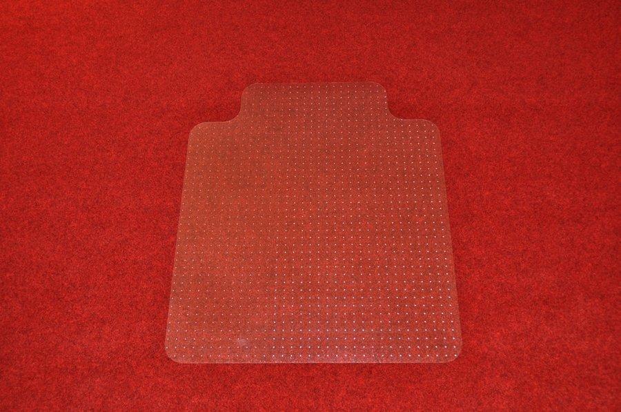 Průhledná ochranná podložka pod židli na koberec - délka 120 cm, šířka 100 cm a výška 0,2 cm