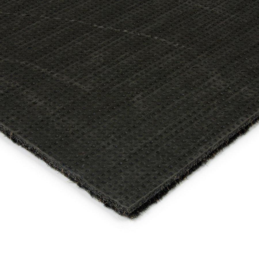 Černá kobercová čistící zóna FLOMA Catrine - výška 1,35 cm