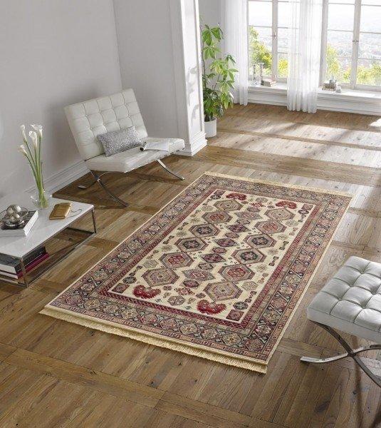 Červený orientální kusový koberec Majestic - délka 140 cm a šířka 70 cm