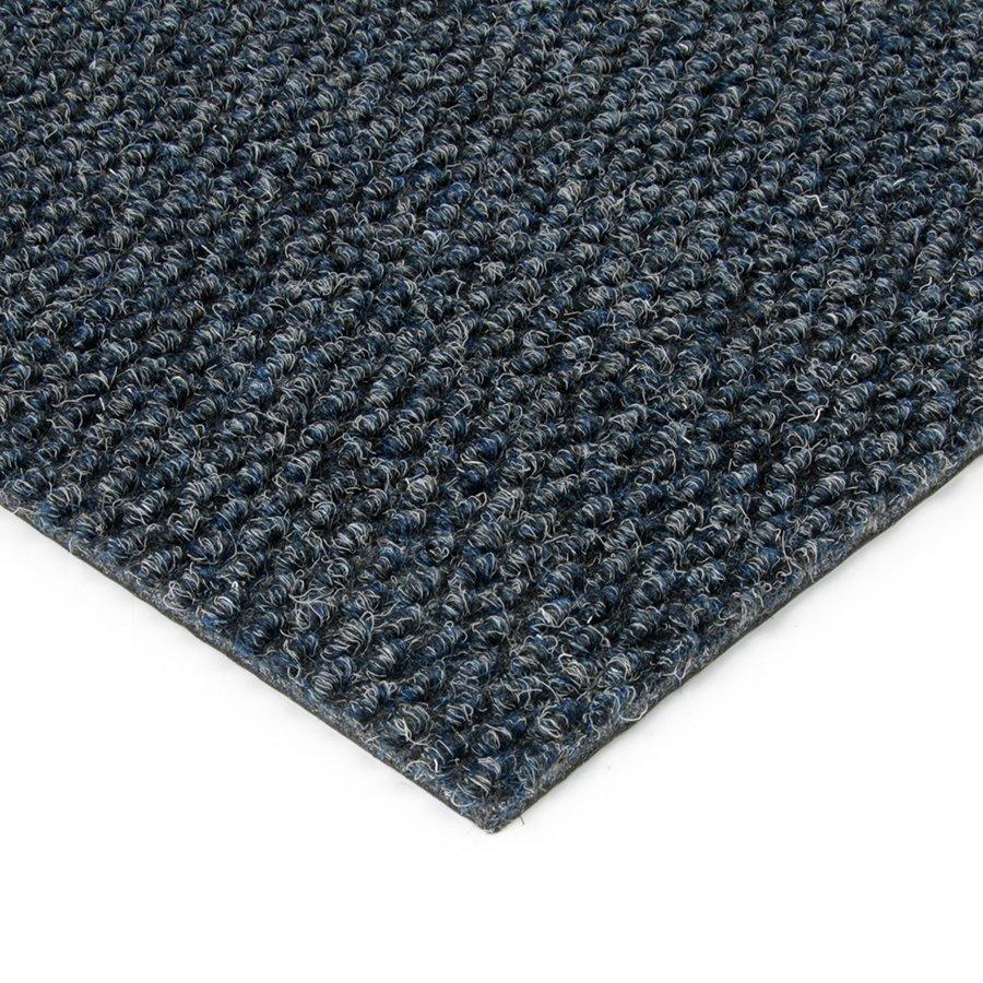 Modrá kobercová zátěžová vnitřní vstupní rohož FLOMA Fiona - výška 1,1 cm