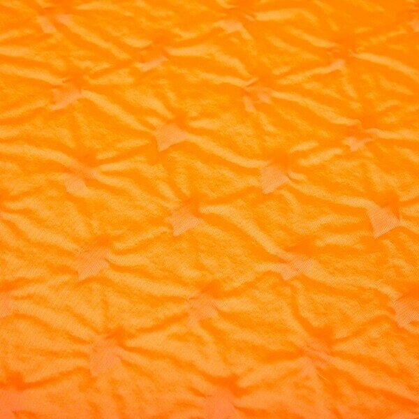 Oranžová samonafukovací karimatka s podhlavníkem NILS CAMP NC4345 - délka 185 cm, šířka 55 cm a výška 2,5 cm
