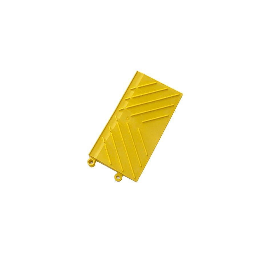 """Žlutá náběhová hrana """"samice"""" Diamond FL Safety Ramp - délka 30 cm a šířka 15 cm"""