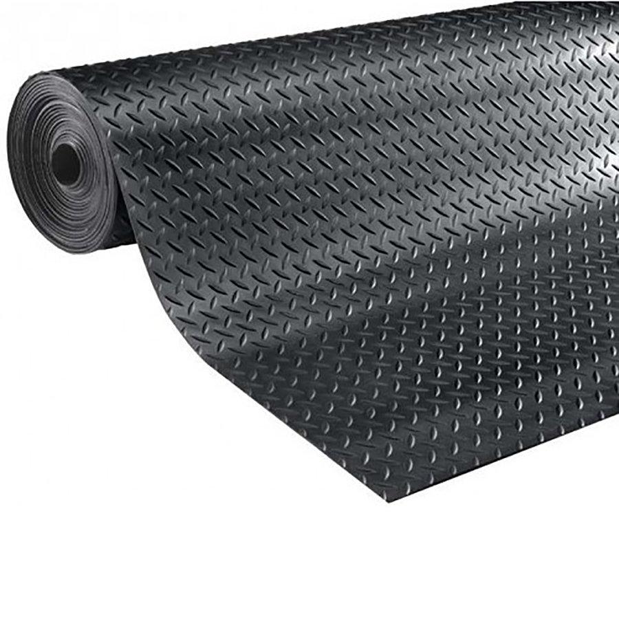 Metrážová průmyslová protiskluzová podlahová guma Diamonds, FLOMA - šířka 160 cm a výška 0,3 cm