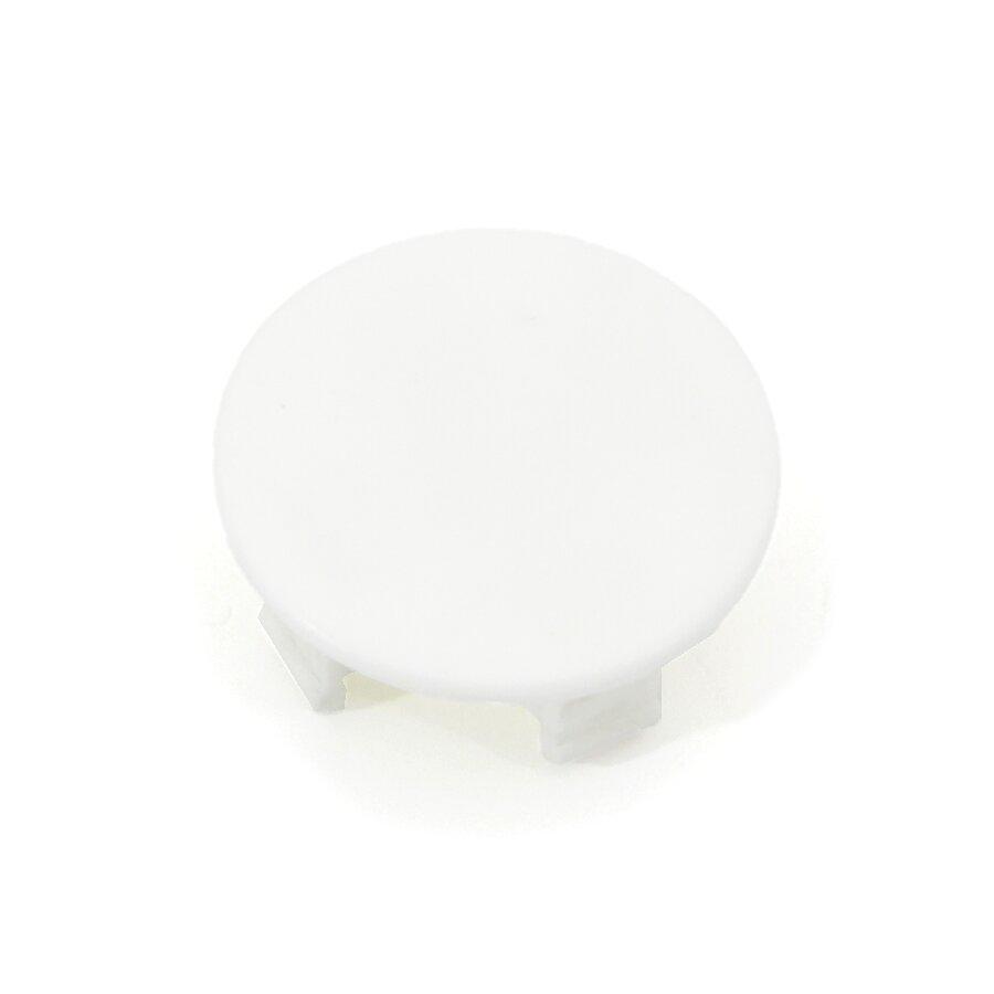 Bílý plastový vyznačovací prvek FLOMA - průměr 7 cm