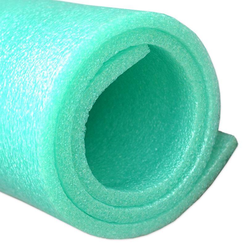 Modro-zelená pěnová gymnastická podložka na cvičení MASTER - délka 90 cm, šířka 50 cm a výška 0,8 cm