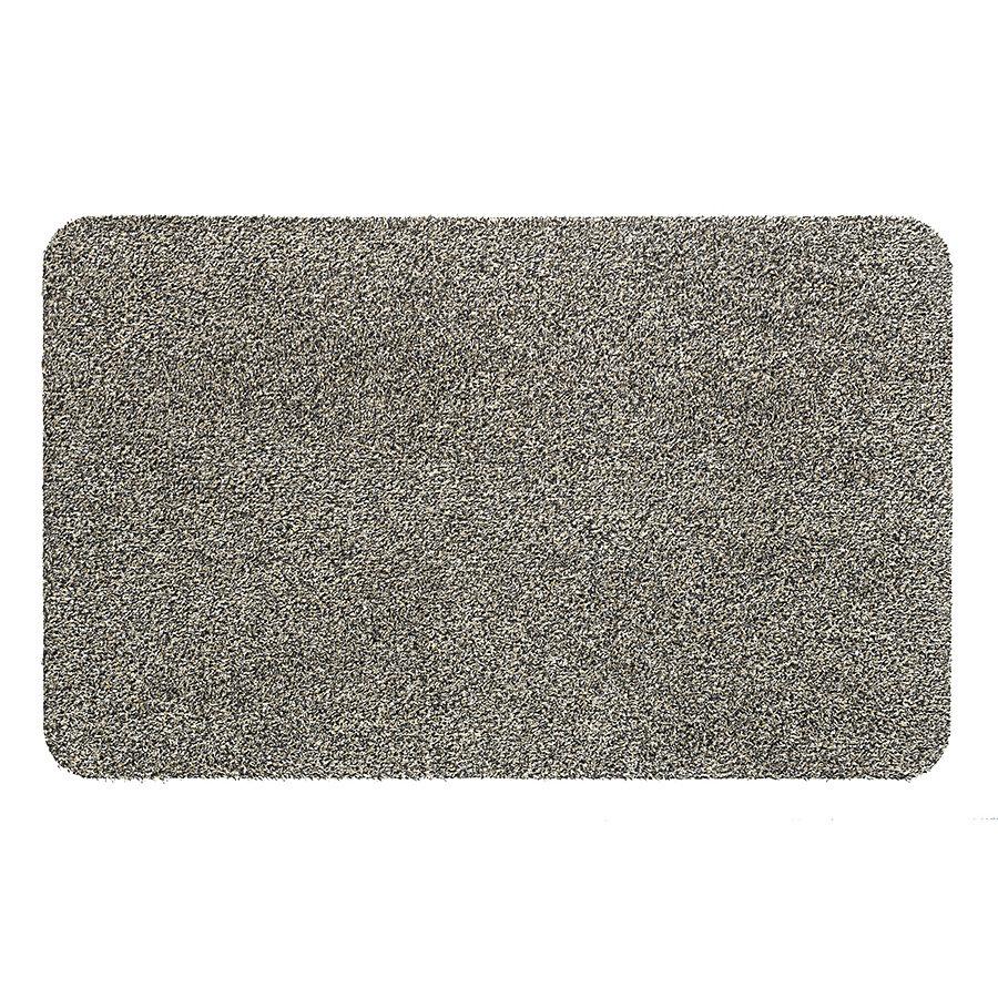 Béžová vnitřní vstupní čistící pratelná metrážová rohož Global, FLOMA - délka 1 cm, šířka 200 cm a výška 0,4 cm