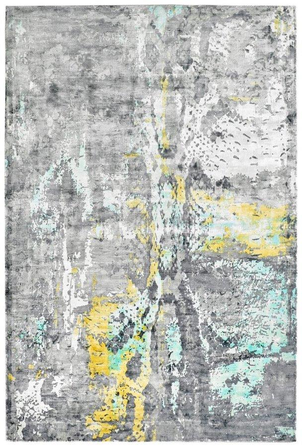 Šedý moderní kusový koberec Taste of Obsession - délka 150 cm a šířka 80 cm