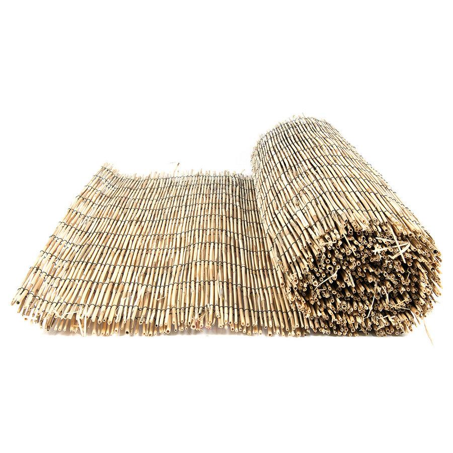 """Rákosová stínící rohož """"úzký rákos"""" - délka 500 cm a výška 150 cm"""