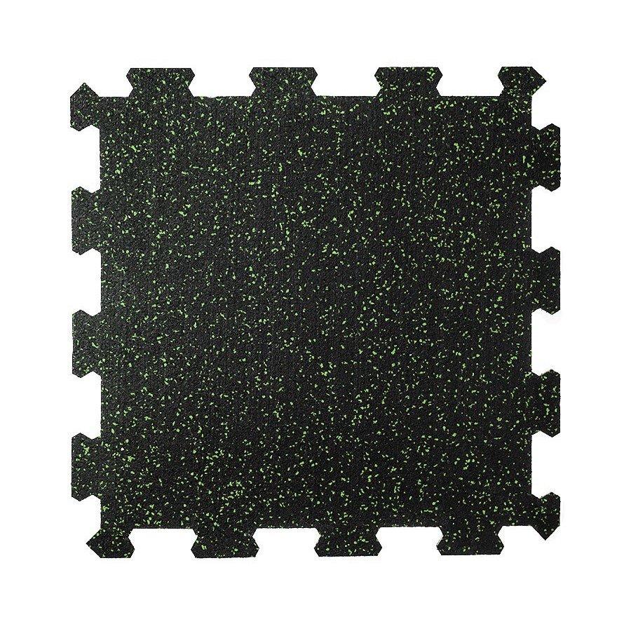 Různobarevná pryžová (10% EPDM PREMIUM) modulární fitness deska (střed) SF1050 - délka 47,8 cm, šířka 47,8 cm a výška 1 cm