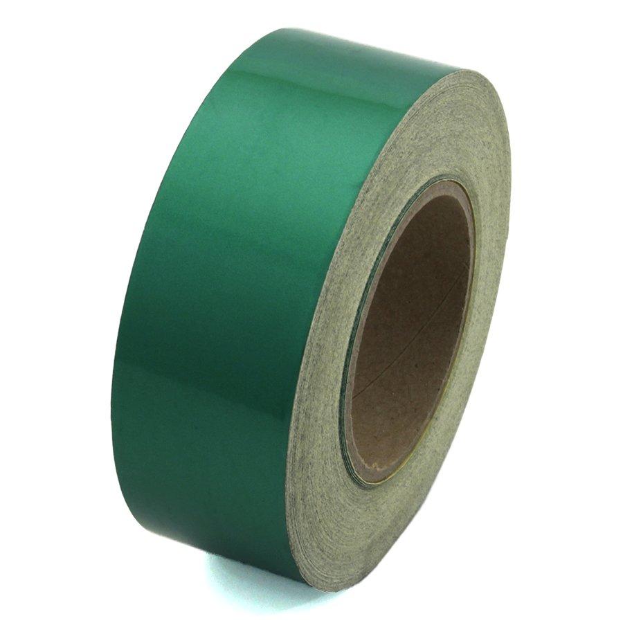 Zelená reflexní výstražná páska - délka 45 m a šířka 5 cm