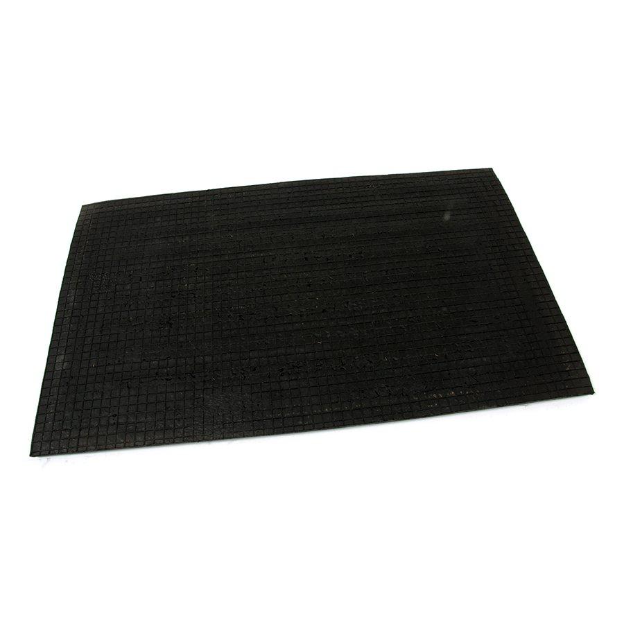 Kokosová čistící venkovní vstupní rohož Rectangle - Stripes, FLOMAT - délka 45 cm, šířka 75 cm a výška 2 cm