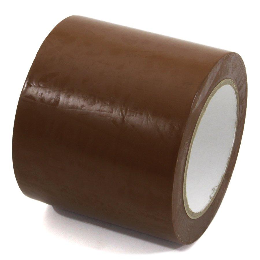 Hnědá vyznačovací páska Standard - délka 33 m a šířka 10 cm