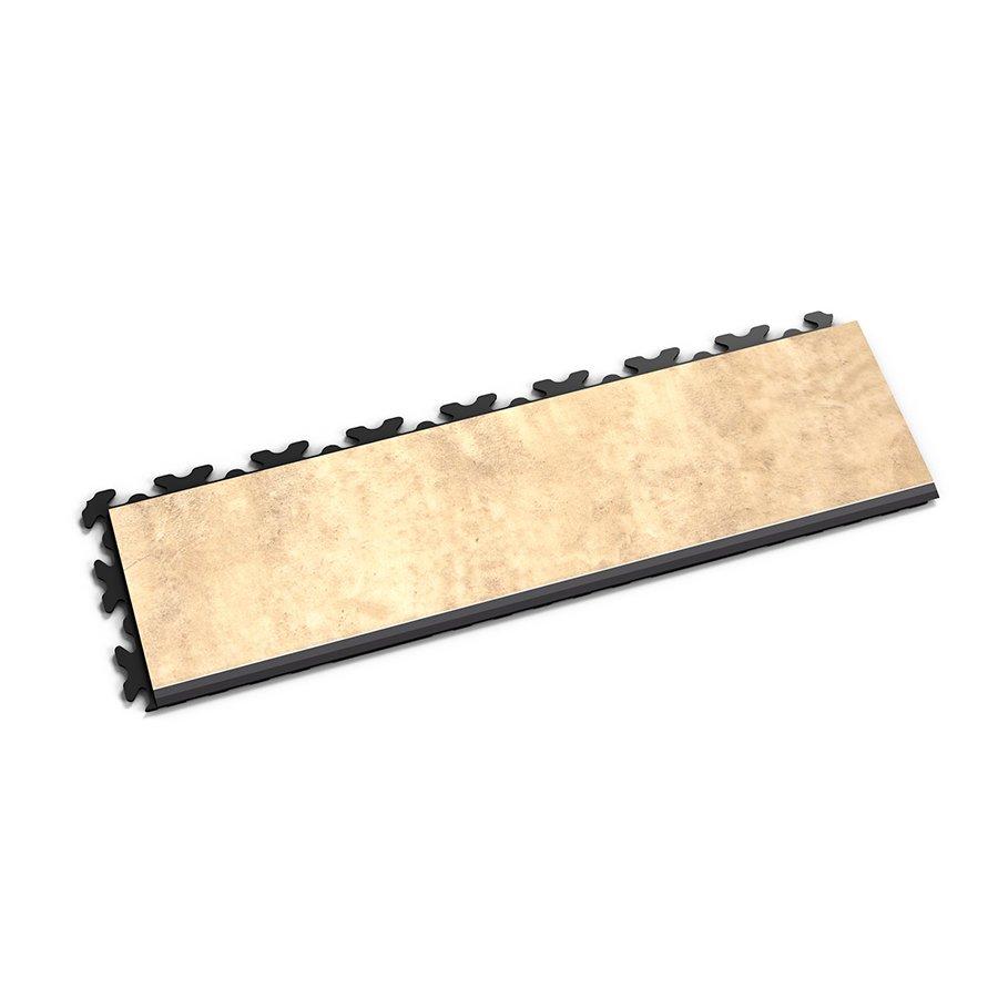 """Béžový vinylový plastový nájezd """"typ D"""" Fortelock Business Decor 2122 - délka 47,2 cm, šířka 14,5 cm a výška 0,65 cm"""