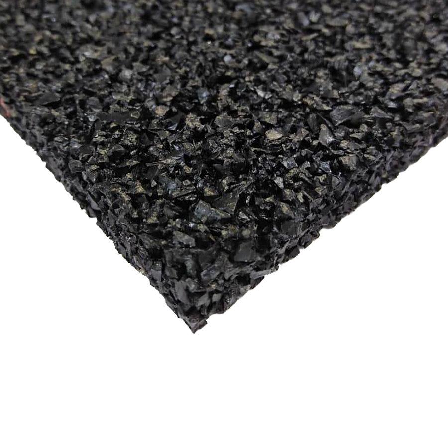 Antivibrační elastická tlumící rohož (deska) z granulátu S650, FLOMA - délka 200 cm, šířka 100 cm a výška 0,8 cm
