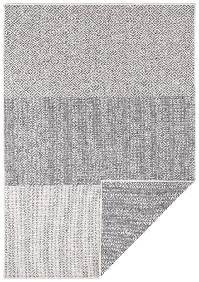 Béžový oboustranný moderní koberec Twin-Supreme