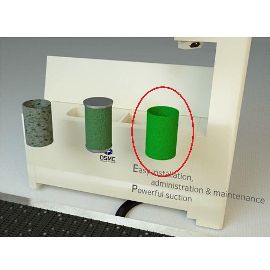Textilní filtr UNI pro elektrické rohože DS