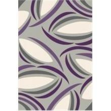 Fialový moderní kusový koberec Super Vizyon - délka 230 cm a šířka 160 cm